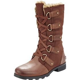 Sorel W's Emelie Lace Boots Burro